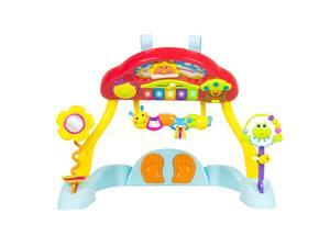 Deluxe Music Activity Gym and Crib Soother, Musical Melodius, Lights, Keyboard and Much More