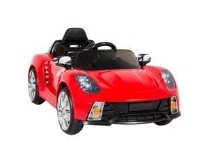 Ride On Car Kids W/ MP3 Electric Battery Power Remote Control RC Silver