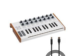 Best Choice Products 25 Key USB MIDI Controller Keyboard Drum Pad