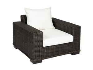 Best Choice Products Premium Patio Wicker Oversized Club Arm Chair
