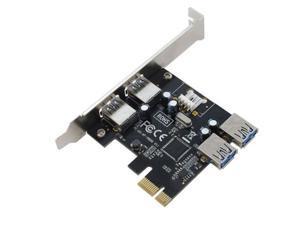 SEDNA PCI Express USB 3.0 4 Port Adapter (2E2I)
