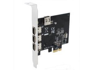 SEDNA - PCI EXpress 4 Ports  1394A ( Firewire ) Adapter card ( VIA )