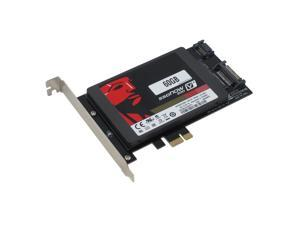 SEDNA PCI Express (PCIe) SATA III (6G) SSD Adapter with 1 SATA III Port