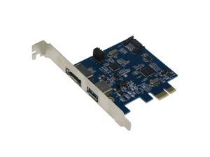 SEDNA - PCIE ( PCI Express ) USB3.0 1 Port + eSATA3.0 1 Port Combo Expansion Card