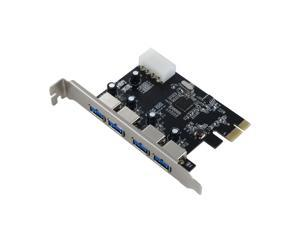 SEDNA - PCI Express USB 3.0 4 Port Adapter (4E) - NEC / Renesas 720201 chip set