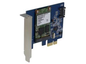 SEDNA PCI Express mSATA III (6G) SSD Adapter with 1 SATA III Port with Low Profile Bracket