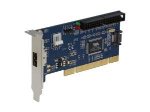 SEDNA - PCI 1 Port PeSATA + 1 Port SATA + 1 Port PATA adapter card with Low Profile Bracket