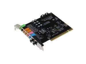 SEDNA - PCI 7.1 Channel Sound Card with Optical SPDIF Input and Output