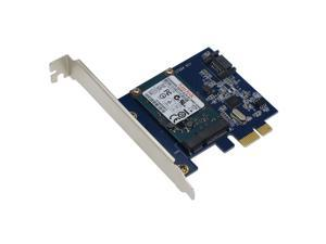 SEDNA - PCI Express mSATA III (6G) SSD Adapter with 1 SATA III port and 24G SanDisk mSATA SSD