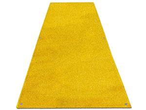 Outdoor Turf Wedding Aisle Runner - Yellow - Many Other Sizes to Choose From