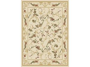 "Home Dynamix Area Rugs: Optimum Rug: 11019-100 Ivory: 7'8""x10'4"" Rectangle"