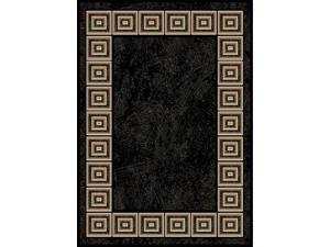 "Home Dynamix Area Rugs: Optimum Rug: 11021-450 Black: 7'8""x10'4"" Rectangle"
