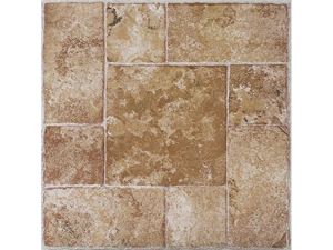 Creative Home: Nexus Vinyl Self Stick Tile: 420 Beige Terracotta: 1 Box 20 Tiles: Covers 20 Sq. Ft.