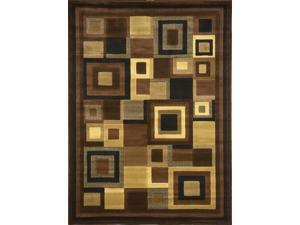"""Home Dynamix Area Rugs: Catalina Rug: 4467-469 Brown: 7'8""""x10'7"""" Rectangle"""