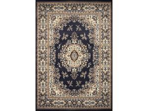 "Home Dynamix Area Rugs: Premium Rug: 7069: Navy Blue 7' 9""x10' 8"" Rectangle"
