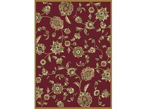 "Home Dynamix Area Rugs: Optimum Rug: 2475-200 Red: 5'2""x7'4"" Rectangle"