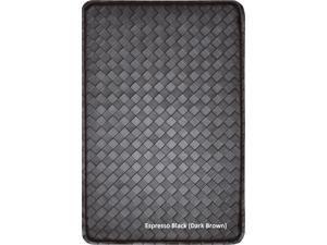 "Home Dynamix Feel At Ease Kitchen Mats: FAE-538 Espresso: 24"" x 36"" Basketweave"