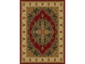 "Home Dynamix Area Rugs: Royalty Rugs: HD2319-215 Red-Ivory: 5'2"" X 7'2"""
