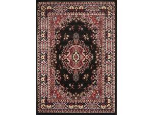 "Home Dynamix Area Rugs: Premium Rug: 7069: Black 7' 9""x10' 8"" Rectangle"