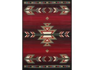 "Home Dynamix Area Rugs: Premium Rug: 7053: Black 1'10""x2'11"" Rectangle"