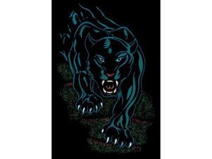 "Home Dynamix Area: Zone Rug: 7231: Black Panther Rug 3' 7""x5' 3"