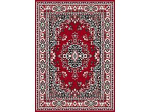 "Home Dynamix Area Rugs: Premium Rug: 7069: Claret Red 5' 3""x7' 5"" Rectangle"