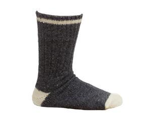 3 Pack Men's Denim Wool Socks - Size 11-12