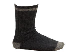 Men's Hiking Socks Dark Gray and Charcoal - Size 10-13
