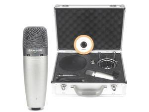 Samson C03UPAK USB Microphone With Podcast Package