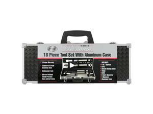 Mr. Bar-B-Q 02068B 18-piece Platinum Prestige Stainless Steel Grill Tool Set/Case