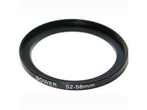Bower Step-Up Adapter Ring - 52mm Lens to 58mm Filter Size