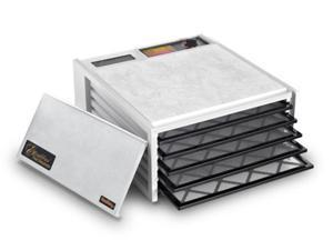 Excalibur 3500W 5 Tray Deluxe Dehydrator - White