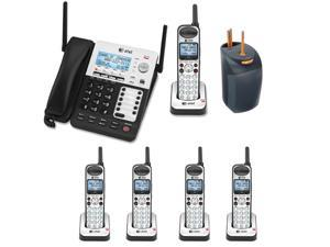 AT&T 4-line Extended Range Cord/Cordless Small Business Phone System