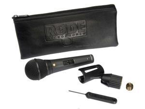 RODE M1-S Live Performance Dynamic Microphone with Lockable On/Off Switch and XLR Lock