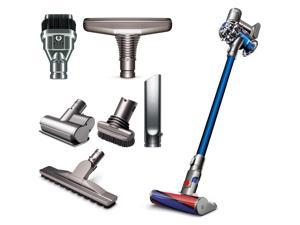 Dyson V6 Fluffy Cordless Vacuum Cleaner for Hard Floors Plus Accessories