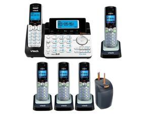 DS6151 2-Line Cordless Phone w/ Digital Ans Sys + Accessory Kit