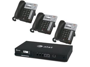 AT&T SYN248 SMB Phone System wtih SB35010 4 Line Analog Gateway and 3 SB35020 Deskset Phones