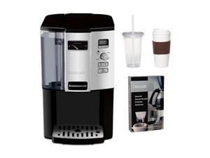 Cuisinart DCC-3000 DCC3000 Coffee-on-Demand 12-Cup Programmable Coffeemaker w/ Two Pack Coffee Mug & Iced Beverage Cup & Coffee/ Espresso Descaler