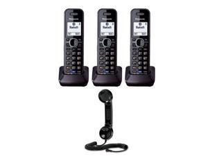 Panasonic KX-TGA950B Accessory 2 Line Handset for KX-TG954X-Series (3 Handset) w/ Vtech Retro Handset