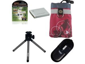 Vivitar Power Accessory Kit for Canon Powershot SD1200IS Pink