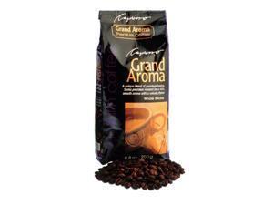 Capresso Grand Aroma Coffee Beans, 8.8-ounce Espresso Roast(12-Bag Bundle)