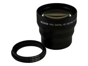 Bower VLB4558 58mm 0.45X Pro Deluxe Super Wide Angle Macro Lens