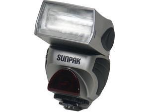 Sunpak PZ-40X II Power Zoom 40X NE-i D-TTL i-TTL Auto Flash for Nikon AF-D Silver