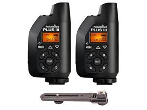 2-Piece Pocket Wizard 801-130 Plus III Transceiver w/ Bracket
