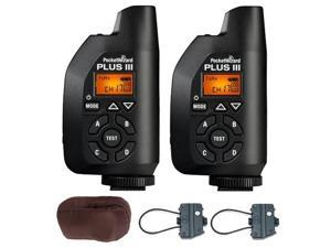 Pocket Wizard Plus III Transceiver + Carrying Case + 2-Piece Transceiver Caddy V3