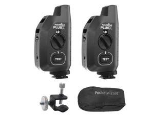 "PocketWizard Plus X Transciever + Kupo Tiny Clamp w/ 1/4""- 20 Male Bundle"