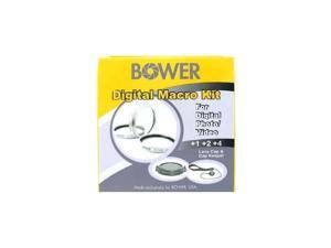 Bower CUS55 55MM Digital Macro Filter Set (+1 +2 +4)