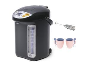 Zojirushi CVDCC50 Hybrid Water Boiler & Warmer with Accessory Bundle