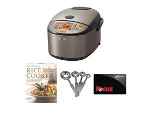 Zojirushi NP-HCC18 Induction Heating System Rice Cooker and Warmer Bundle