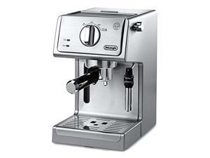 "De'Longhi ECP3630 15"" Bar Pump Espresso and Cappuccino Machine, Stainless Steel"